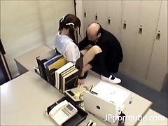Old Teacher Nailing Small Japanese Schoolgirl Teenager - Small jugs